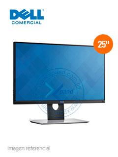 """Monitor Dell UltraSharp, 25"""", 2560 x 1440, QHD, HDMI/mini-DP/DP/USB 3.0"""