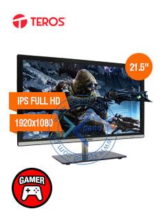 MON TEROS LED 21.5'' HDMI VGA