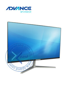 "Monitor Advance ADVF240W, 24"" LED, 1920 x 1080, HDMI /VGA, ultradelgado, parlantes."