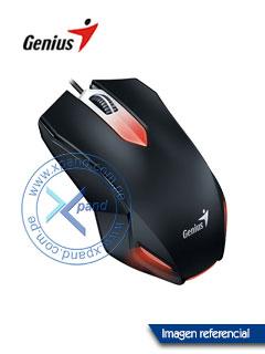 Mouse óptico Genius Gaming X-G200, USB, 3 botones con rueda, presentación colgador