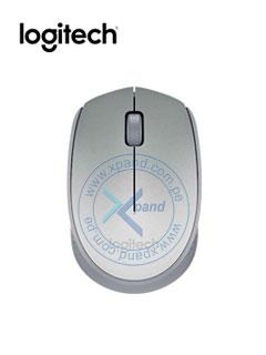 Mouse óptico inalámbrico Logitech M170, ambidiestro, receptor USB, 2.4 GHz, Silver.