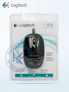MS LOG USB M105 Black