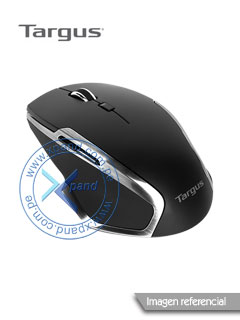 Mouse óptico inalámbrico Tagus W574, 1600 dpi, receptor USB, 2.4GHz, Negro.