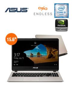 "Notebook Asus X507UB-BR161, 15.6"", Intel Core i5-7200U 2.50GHz, 4GB DDR4, 1TB SATA."
