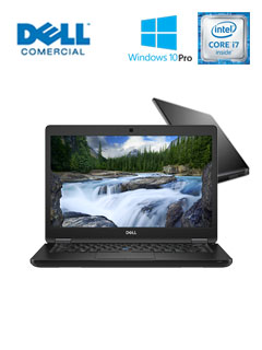 NB DELL LAT5490 I7-8 8G 256 WP