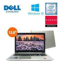 "Notebook Dell Inspiron 5570, 15.6"", Intel Core i5-8250U 1.60 GHz, 8GB DDR4, 2TB SATA"