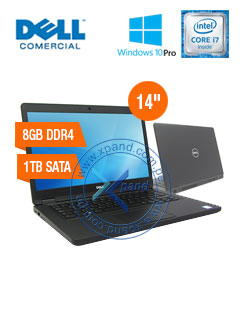 NB DELL LAT5480 I7 8G 1T W10P