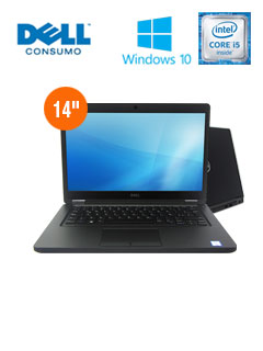NB DELL LAT5480 I5 8G 1T W10P