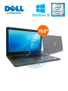 "Notebook Dell Inspiron 15 5000, 15.6"" FHD, Intel Core i7-7500U 2.70GHz, 8GB DDR4, 2TB SATA"
