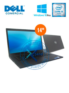"Notebook Dell Latitude 7480, 14"" HD, Intel Core i5-7200U 2.50GHz, 8GB DDR4, 256GB SATA M.2"