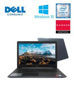 """Notebook Dell Inspiron 15 5000, 15.6"""" FHD, Intel Core i5-8250U 3.40GHz, 4GB DDR4."""