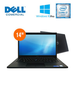 NB DELL LAT7480 I7 8G 256 W1P