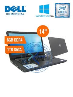 """Notebook Dell Vostro 3468, 14"""" HD, Intel Core i5-7200U 2.50GHz, 8GB DDR4, 1TB SATA"""