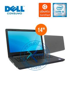 "Notebook Dell Inspiron 3467, 14"", Intel Core i5-7200U 2.50GHz, 8GB DDR4, 1TB SATA."