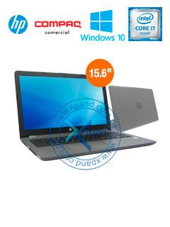 "Notebook HP 250 G6, 15.6"" LED, Intel Core i7-7500U 2.70GHz, 8GB DDR4, 1TB SATA"