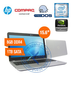 "Notebook HP ProBook 450 G4, 15.6"" LED, Intel Core i7-7500U 2.7GHz, 8GB DDR4, 1TB SATA."