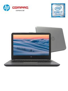 "Notebook HP 348 G4, 14"" HD, Intel Core i7-7500U 2.70GHz, 8GB DDR4, 1TB SATA."