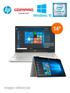 """Notebook 2-in-1 HP Pavilion x360, 14"""" HD Touch, Intel Core i3-8130U 2.2GHz, 4GB DDR4."""