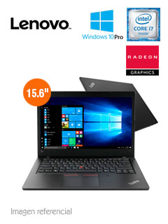 "Notebook Lenovo ThinkPad L580, 15.6"", Intel Core i7-8550U 1.80GHz, 8GB DDR4, 2TB SATA."