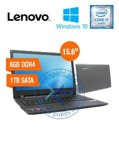 "Notebook Lenovo IdeaPad 110, 15.6"" LED, Intel Core i7-6500U 2.5Ghz, 8GB DDR4, 1TB SATA."