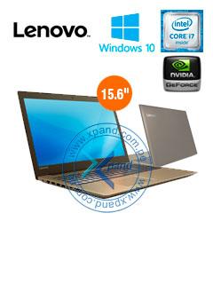 "Notebook Lenovo IdeaPad 520, 15.6"", Intel Core i7-7500U 2.70GHz, 12GB DDR4, 1TB SATA."