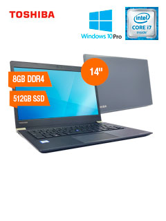 "Notebook Toshiba Tecra X40-D1455LA, 14"", Intel Core i7-7600U 2.8GHz, 8GB DDR4, 512GB SSD"
