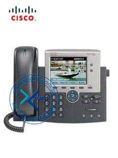 "Telefono IP Cisco Unified 7945G, 5"" TFT, 320x240, 2 RJ-45 GbE, Audio."