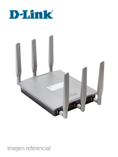 Access Point D-Link DAP-2695 AC1750, Dual Band, 2.4GHz/5Ghz, 802.11ac, RJ-45 GbE, PoE.