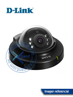 Cámara IP D-Link DCS-6004L, CMOS, zoom digital 10x, HD 1280x800, PoE.