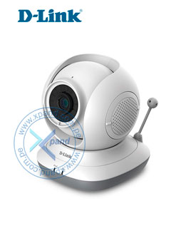 Cámara IP Wireless D-Link EyeOn Baby Monitor HD 360, CMOS, Indoor, IR, 1280x720, 802.11n