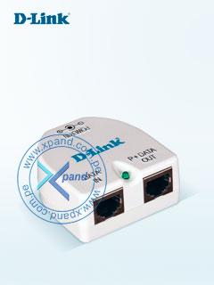 Adaptador PoE D-Link DPE-101GI, LAN GbE, 48Vout, 0.