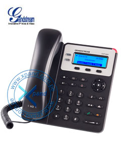 Teléfono IP GRANDSTREAM GXP1625, 2 líneas, LCD 132 X 48, RJ-45 PoE, Audio HD.