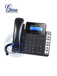 Teléfono IP GRANDSTREAM GXP1628, 2 lineas, LCD 132 X 48, RJ-45 GbE PoE, Audio HD.