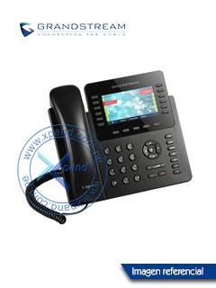 "Teléfono IP GRANDSTREAM GXP2170, LCD 4.3"" color, RJ-45 Gigabit PoE, Bluetooth."