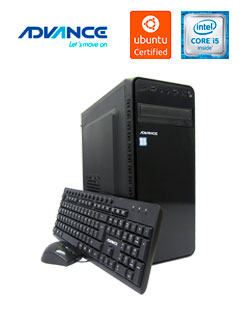 Computadora Advance Vission Open VO4400, Intel Core i5-7400 3.00GHz, 8GB DDR4, 1TB SATA.