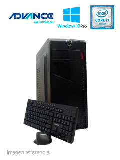 PC VP6700 CI7/8/500GB/W10/OH&B