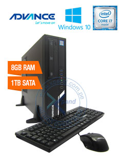 Computadora Advance Vission VS7292, Intel Core i7-7700 3.60GHz, 8GB DDR4, 1TB SATA.