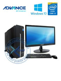 Computadora Advance Vission VS6353, Intel Core i3-4170 3.70GHz, 4GB DDR3, 1TB SATA.