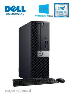 Computadora Dell OptiPlex 7060 SFF, Intel Core i5-8500 3.00 GHz, 8GB DDR4, 1TB SATA.