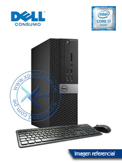 Computadora Dell OptiPlex 7040 SFF, Intel Core i7-6700 3.40 GHz, 16GB DDR4, 2TB SATA.