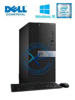 Computadora Dell Optiplex 7050, Intel Core i7-7700 3.60GHz, 8GB DDR4, 1TB SATA.
