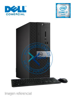 Computadora Dell OptiPlex 7050 SFF, Intel Core i7-7700 3.60 GHz, 16GB DDR4, 2TB SATA.