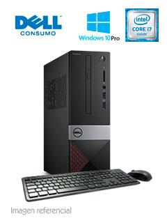 Computadora DELL VOSTRO 3470 SFF, Intel Core i7-8700 3.20 GHz, 8GB DDR4, 1TB SATA.