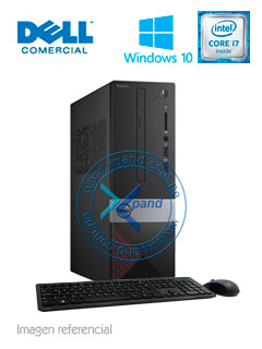 Computadora Dell Vostro 3268, Intel Core i7-7700 3.60 GHz, 8GB DDR4, 1TB SATA.