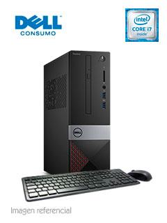 Computadora DELL VOSTRO Eagle SFF CFL, Intel Core i7-8700 4.60 GHz, 8GB DDR4, 1TB SATA.
