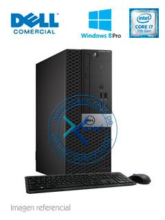 Computadora Dell Optiplex 7050, Intel Core i7-7700 3.60GHz, 8GB DDR4, 1TB SATA.