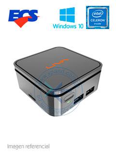 Mini Computadora ECS Liva Q, Intel Celeron N3350 1.60GHz, 4GB LPDDR4, 32GB eMMC.