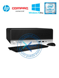 Computadora HP ProDesk 400 G4 SFF, Intel Core i7-7700 3.60 GHz, 8GB DDR4, 1TB SATA.