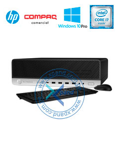 Computadora HP EliteDesk 800 G3 SFF, Intel Core i7-7700 3.6 GHz, 8GB DDR4, 1TB SATA, V-Pro