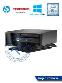 Computadora HP ProDesk 400 G3 SFF, Intel Core i3-6100 3.70GHz, 4GB DDR4, 1TB SATA.